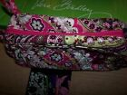 VERA BRADLEY TRIP KIT COSMETIC QUILTED COTTON LAMINATED INTERIOR L@@K