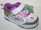 Disney Fairies Tinkerbell NWT Girls 7 Pink & Silver Athletic Tennis Shoes