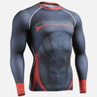 FIXGEAR CFL-72 Skin Compression under  Baselayer MMA Running training Rash-guard