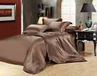 100% Silk Sheets-22 MM Heavy Weight 4 pc Mulberry Silk Se...