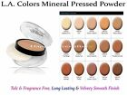 L.A. COLORS Mineral Pressed Powder- Long Lasting, Velvety Smooth Finish *US SELL