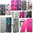 Flip Wallet Leather Case Floral Flower Cover Pouch Case For Nokia 220 Dual Sim