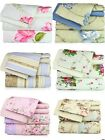 Super Soft Luxury Floral Six(6) Piece Bed Sheet Set comes in 4 Sizes & 6 Colors! image