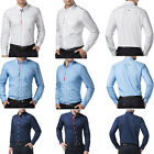 NEW Mens Shirts Luxury Casual Stylish Business Formal Long Sleeve Dress Shirt PJ