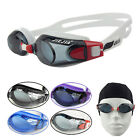Waterproof Fog Packed Women's/Men Swimming Goggles + Cap + Case for Water Sports