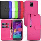 Flip Wallet Leather Case Cover Pouch For Samsung Phone Models Make