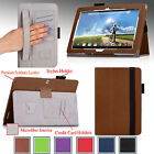 PU Leather Case Cover Stand w/ Hand Strap For Acer ICONIA Tab 10 A3-A20 10.1""