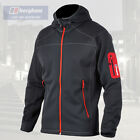Berghaus Men's Pravitale Stretch Softshell Fleece Hooded Jacket - Carbon - New