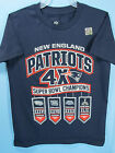 New England Patriots S/S Shirt Patriots 4x Super Bowl Champs Youth Clothing NWT $14.95 USD on eBay