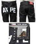 A BATHING APE Mens AAPE L PRT RINSED JN PANTS Button Up Best Buy From Japan New