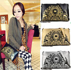 Women Lady Leisure Clutch Chain Purse PU Leather Handbag Crossbody Shoulder Bag