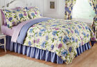 Collections Etc Floral Mayfield Bedroom Comforter Set