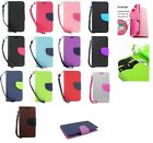 Leather Flip Pu Wallet Pouch Cover Case with Credit Cash Slot for Zte Zmax Z970