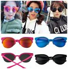Vtg Men Womens Cool Resin Retro Mirror Party Aviator Shades Eyewear Sunglasses F