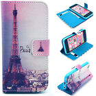 Paris Tower Luxury Wallet Flip wallet card leather case for SamSung Iphone Nokia