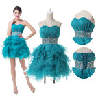 SEXY Women SHORT Homecoming dress Bridesmaid Evening Formal Prom Party Gown PLUS