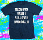 Funny Sailing Capsized  - T Shirt - 5 colour options - Small to 3XL - Free Post