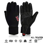 Cycling Gloves Full Finger Gel Palm Hiking Running Triathlon All Season Gloves