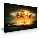 Unclear Bomb Explosion Modern Canvas Music Poster Wall Art Deco ~ 9 Sizes