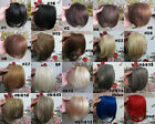 "Brand New AAA 8"" Fashion Bang Human Hair Clips in  Extensions Front Fringe 20g"