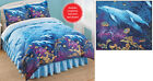 Collections Etc Seaside Dolphin Cove Comforter Set