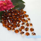 10mm 4CT Amber Brown Acrylic Diamond Confetti Wedding Party Table Scatters