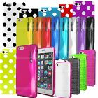 S Line Grip Gel Silicone Mesh Case Cover For Apple Iphone 4 4s 5 5s 5C 6 6 Plus