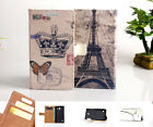 Luxury Wallet Flip wallet card leather case f SamSung Iphone Nokia SONY LG / KS09