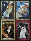 JENNIFER CAPRIATI _ 4 Different Cards _ Choose 1 or More _ 10+ Mail FREE in USA