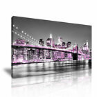 Brooklyn Birdge Canvas USA New York Manhattan Modern Home Wall Art Deco