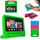 Kids Safe Shock Proof Handle Foam Case Cover for Amazon Kindle Fire