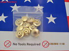 10 GOLD Locking Pin Backs fit Disney  Best Avail ! USA seller since 2006  keeper