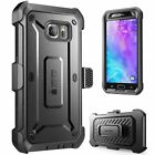 Samsung Galaxy S6 Case Cover Built-in Screen Protector Supcase Belt Clip Holster