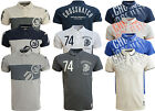 Mens Polo T Shirt Crosshatch  CottonPolo Pique Short Sleeved Casual Top