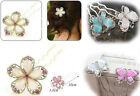 Beautiful Flower or Butterfly Hair Accessory Pin Stick Pick 10cm US Seller