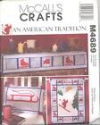 McCall's 4689 Winter Sports Items - Craft/Sewing Pattern