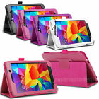 Leather Case Cover Stand  For Samsung Galaxy Tab Various Models With Stylus