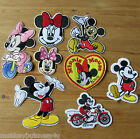 1 - Iron on Patch - Mickey Mouse #1 - Characters - Kids -  Sewing - Applique