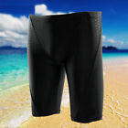 Men Imitation of Sharkskin Fabric Beach Shorts Middle Swimming Trunks Swimwear