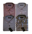 566-mens Summer Short Sleeve Stripe  Casual/formal Shirts M To 2xl By Tom Hagan
