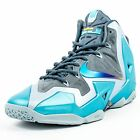 NIKE LEBRON XI GAMMA BLUES ARMORY SLATE GAMMA BLUE LIGHT BLUE 616175 401 4A1