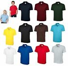 Boys/Girls Kids School Summer Polo Shirt T-Shirt Uniform Sports Casual P.E Class