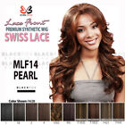 MLF14 PEARL BOBBI BOSS PREMIUM FIBER SYNTHETIC SWISS LACE FRONT WIG