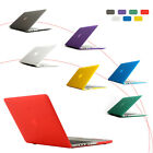 "Matte Clear Style Case, Silicone Hard Case Cover for Mac Book Air 11.6""/13.3"""