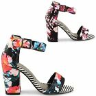 WOMENS STRAPPY LADIES DOLCIS BLOCK HIGH HEEL SUMMER PEEP TOE SANDALS SHOES SIZE