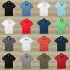 HOLLISTER by Abercrombie Men`s Polo Shirt  Pearl Street NEW S,M,L,XL Spring 2015