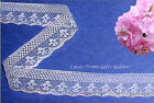 """6 Yards Lace Trim Multi Color White 3/4"""" Pastel R121V Added Items Ship No Charge"""