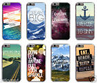 Inspirational Life Quote Saying Hipster Nature Typography Case Cover For iPhone