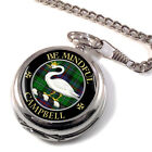 Campbell Cawdor Scottish Clan Pocket Watch