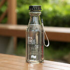 550ml Portable Plastic Leak-proof Water Bottles With Ropes Cycling Camping Cup